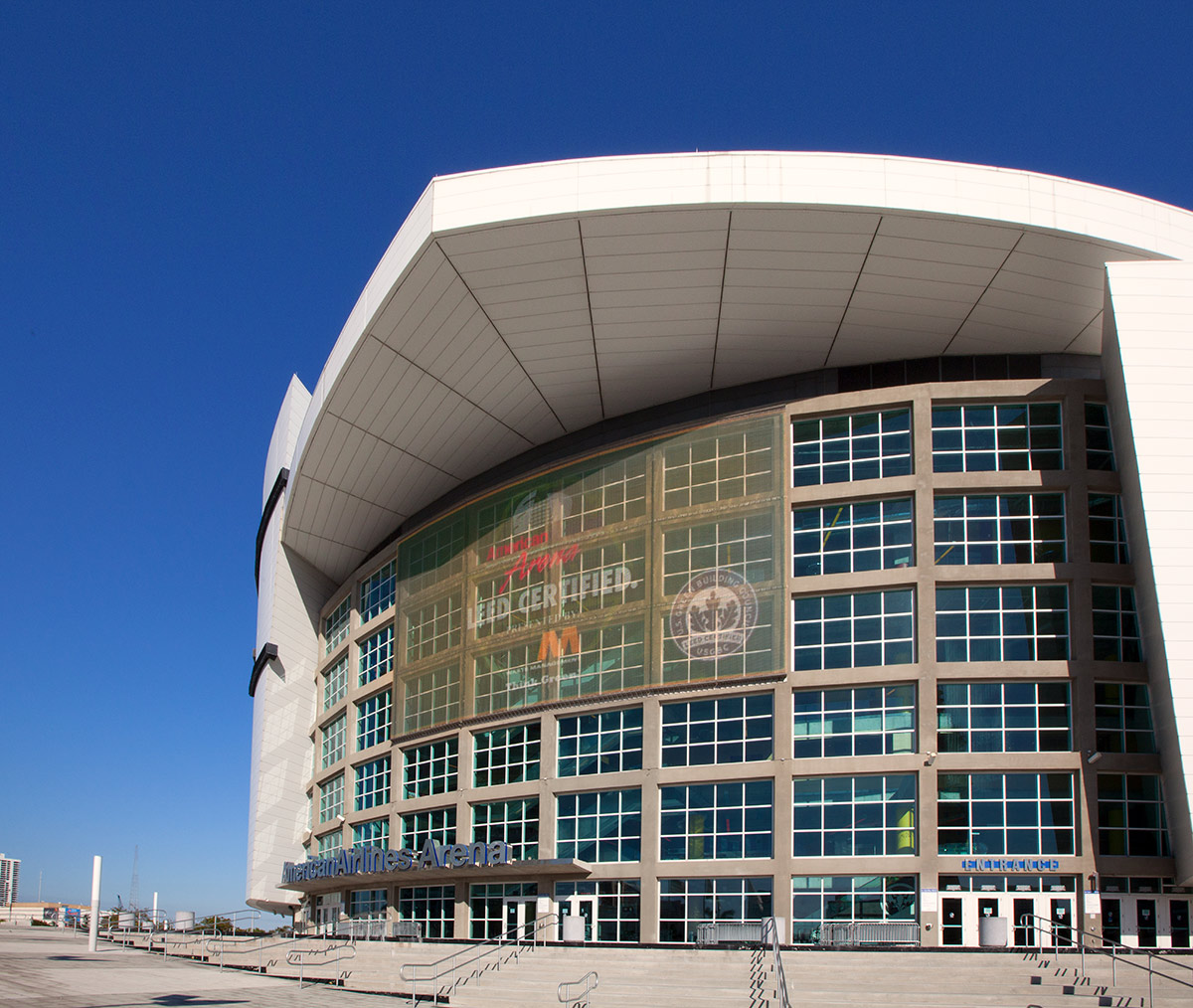 American Airlines Arena Day View