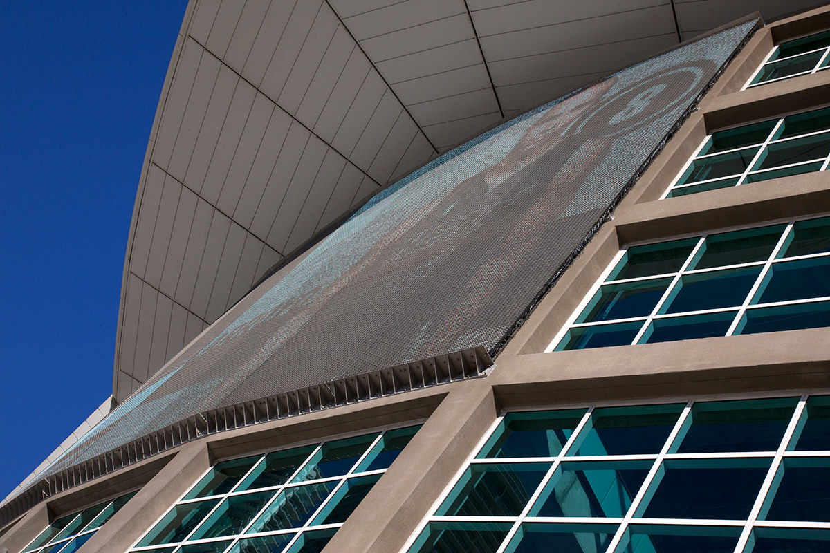 American Airlines Arena Metal Fabric